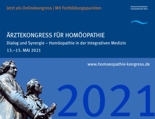 Deutscher Ärztekongress für Homöopathie 2021